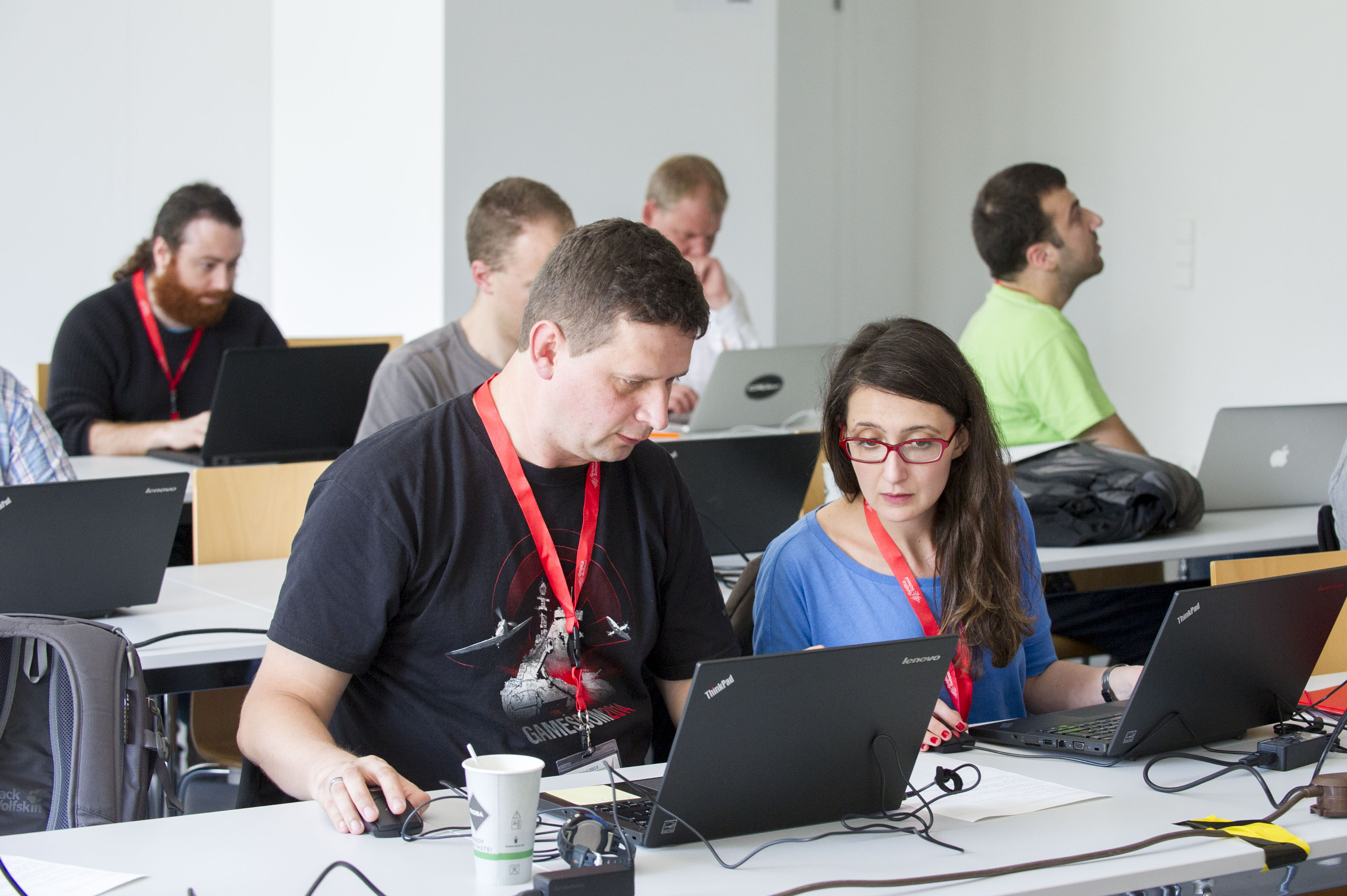 getting HPC in the cloud running (photo by Tanja Meissner, KIT)